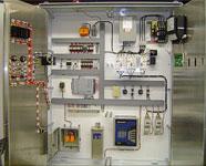 Custom electronic UL panel with dual inner doors