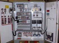 Custom VFD panel with double doors