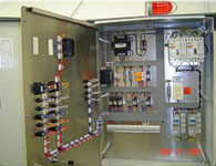 Stainless steel wall mount custom electrical panel