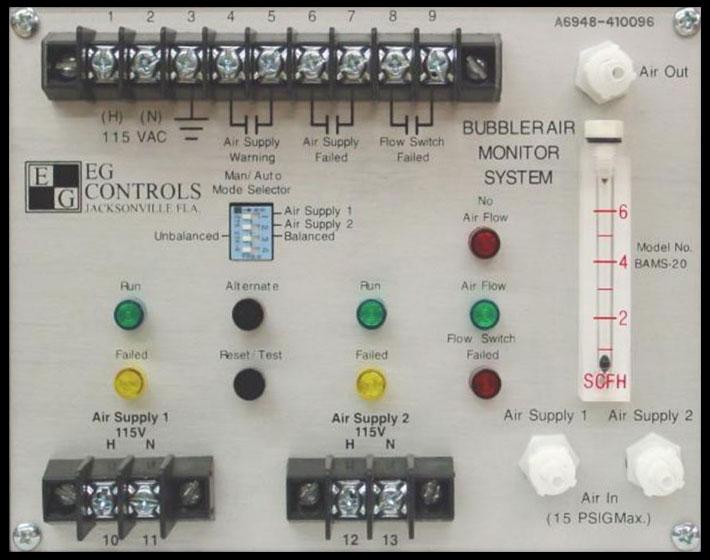 Bubbler Air Monitoring Systems