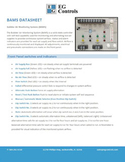 Data Sheet for the BAMS
