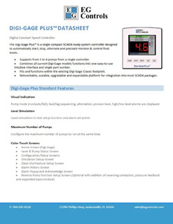 Data Sheet for the Digi-Gage Plus