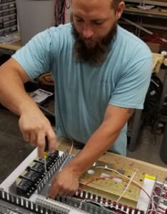 EG Controls Panel Shop Assembly