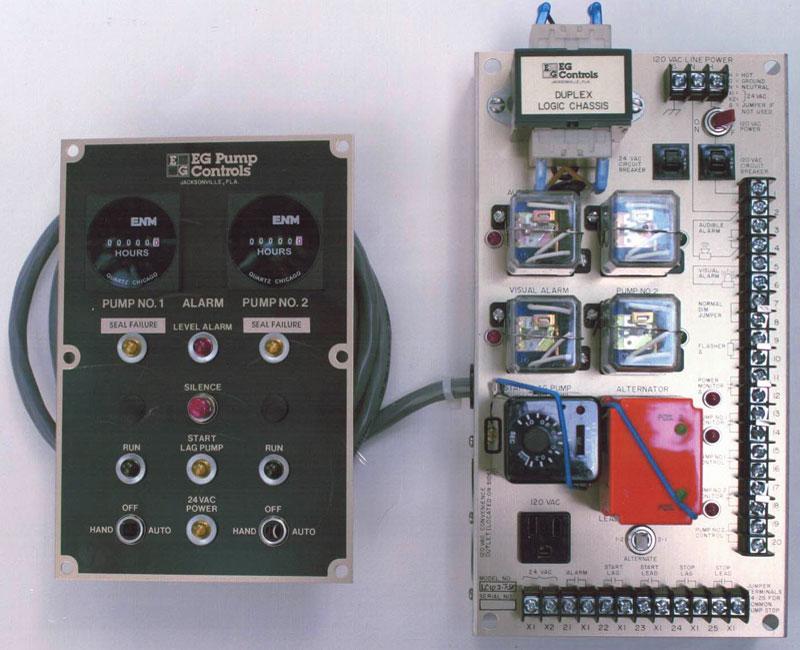 Logic Chassis Duplex Logic Control System