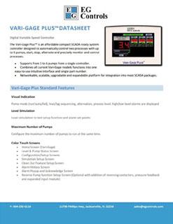 Data Sheet for the Vari-Gage Plus