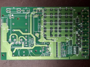 Spare circuit board ready to be built.