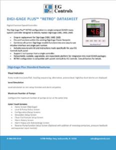 Data Sheet for the Digi-Gage Plus RETRO Configuration
