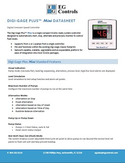 Data Sheet for the Digi-Gage Plus Mini